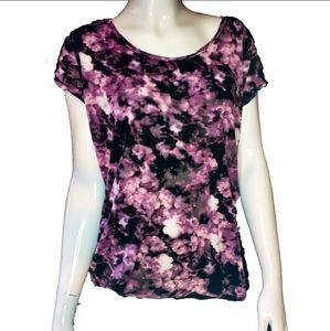 Vera wang shirt purple galaxy